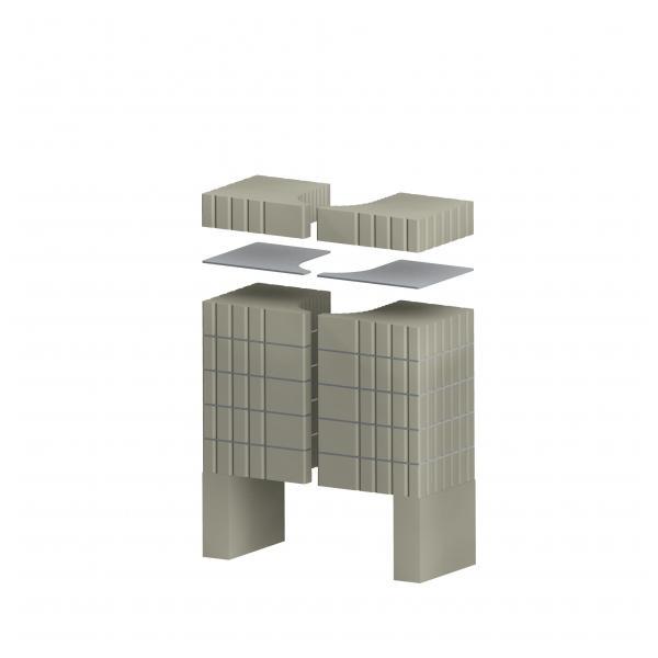 Kit de acumulare caldura pentru soba CARA C