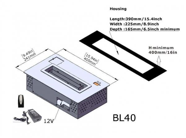 Semineu bioetanol BL40