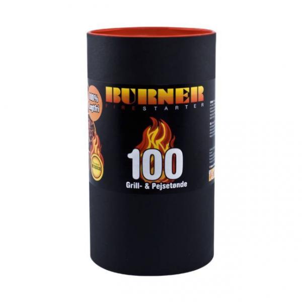 Pastile pentru aprindere foc semineu 100buc